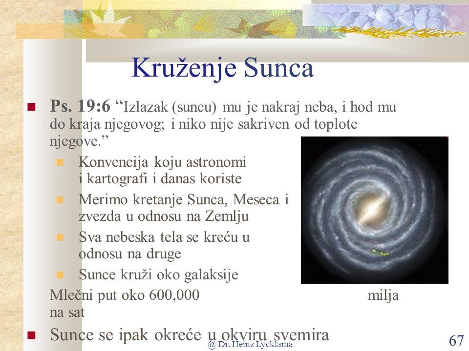 @ Dr. Heinz Lycklama 67 Kruženje Sunca Ps.
