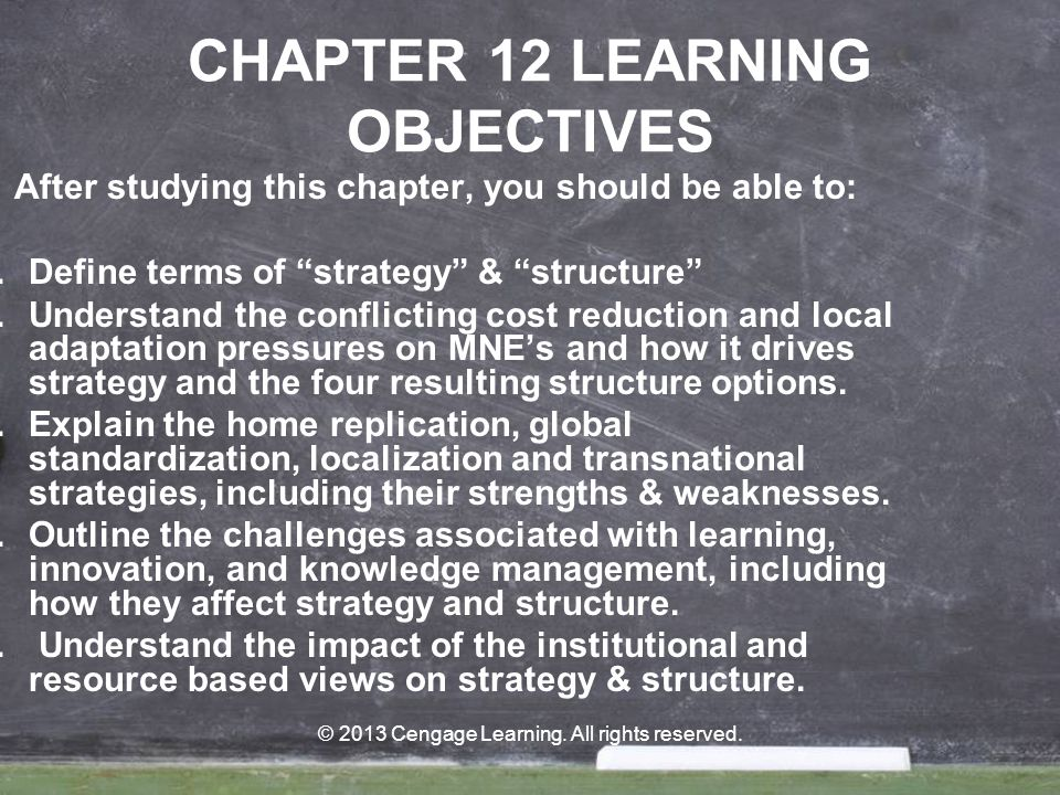 © 2013 Cengage Learning.All rights reserved.