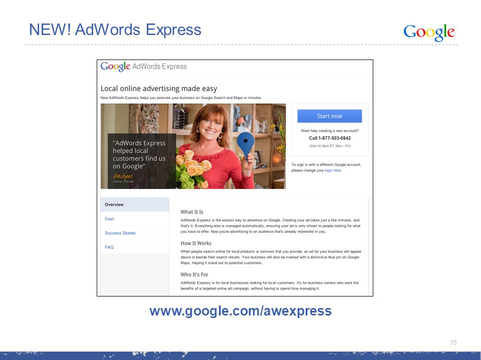 NEW! AdWords Express   35