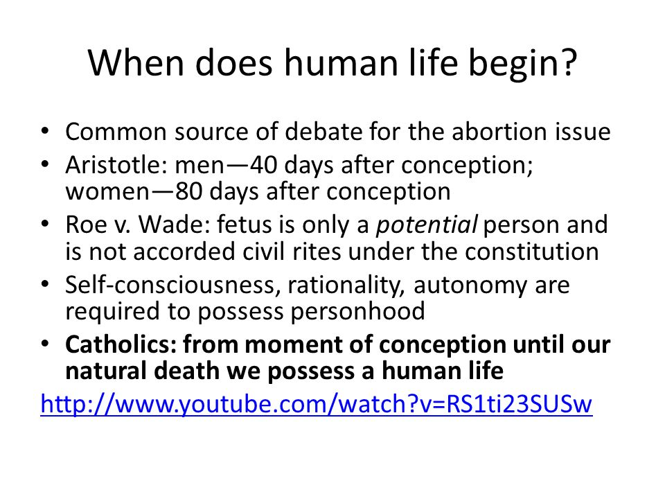 Methods of Abortion Induced abortion: active removal of the human embryo or fetus before 20 weeks Surgical abortion: using surgical instruments Medical abortion: using pharmaceutical drugs