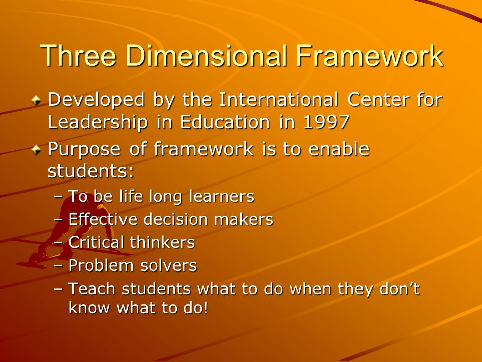 Relevance Rigor Relationship Rigor, Relevance & Relationship Framework To maximize a students learning, it is critical to keep the balance between all three dimensions.