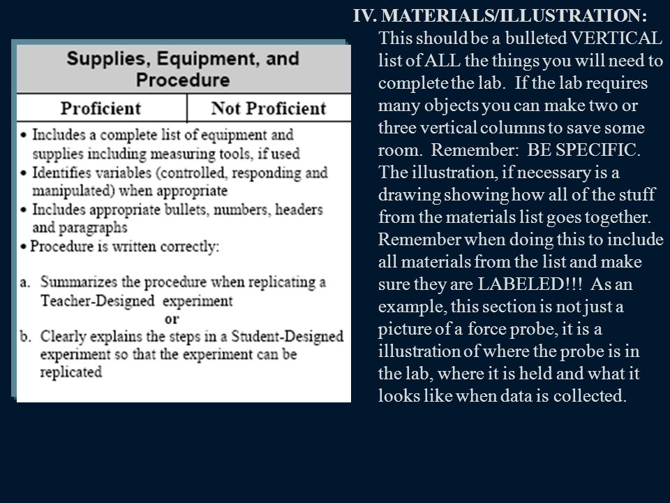 V.VARIABLES: List all relevant responding and manipulated variables.