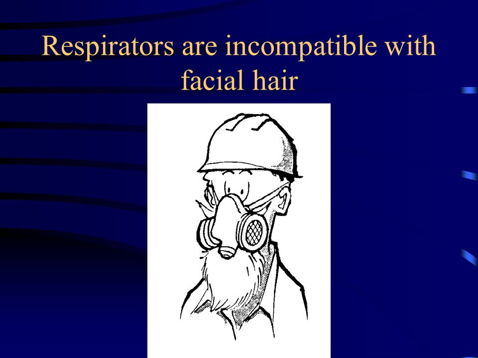 Why? Respirators put additional resistance against the respiratory system of the wearer workers with undiagnosed respiratory system or cardiovascular
