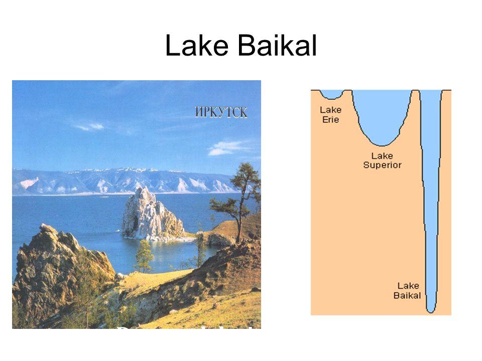 Lake Baikal Deepest lake in the world