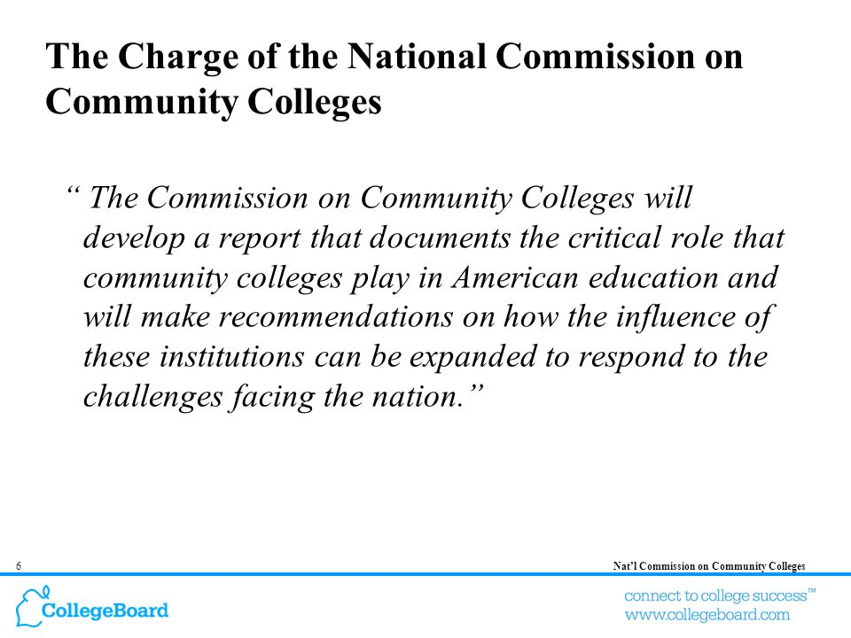 17Natl Commission on Community Colleges 2.