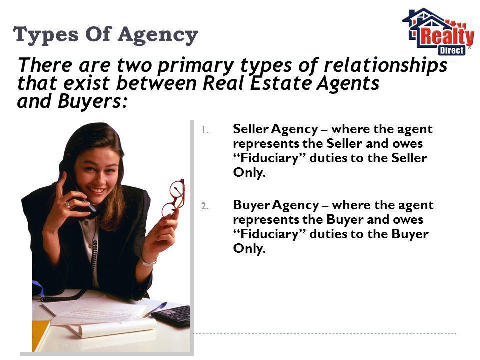 Types Of Agency 1.