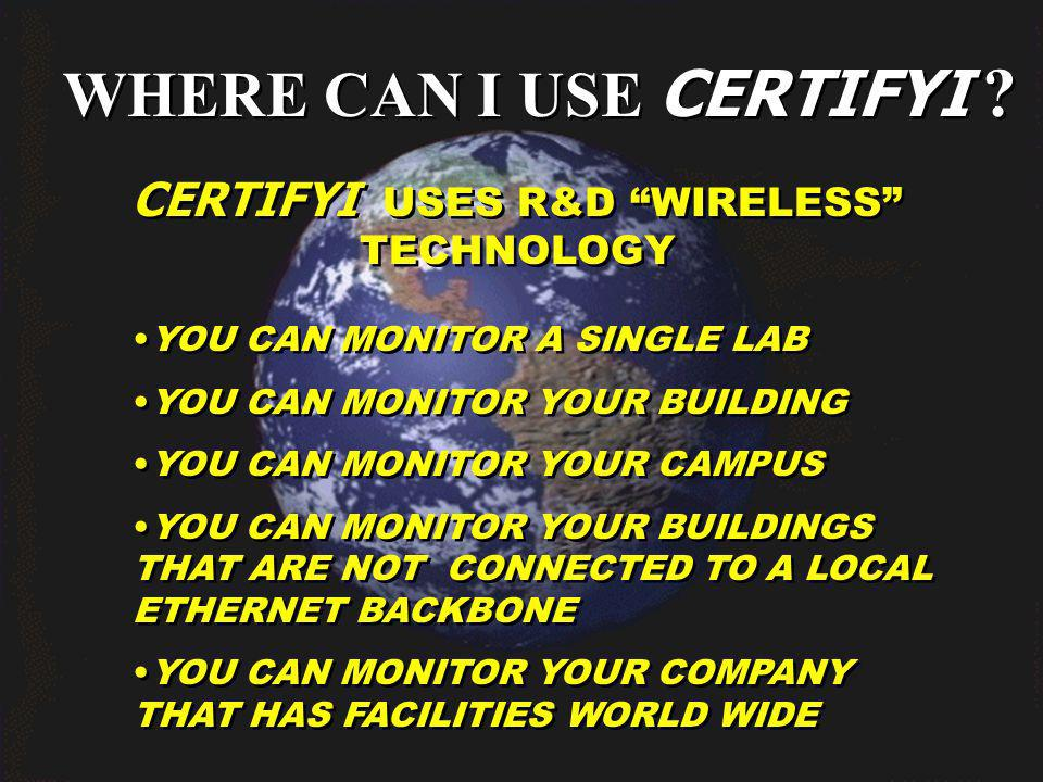 WHERE CAN I USE CERTIFYI .