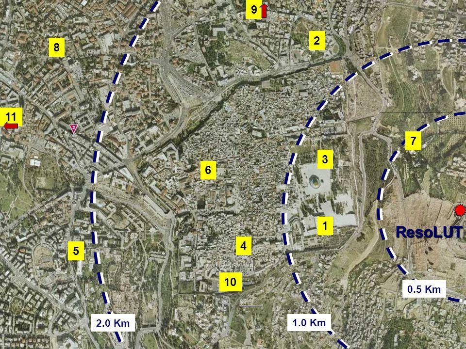 1 Map El Aqsa Mosque (700 meter)