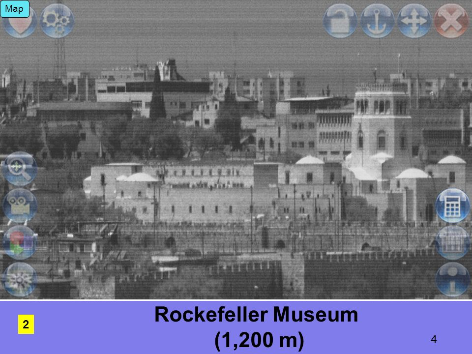 34 Dome of the Rock (800 meter) Map 3