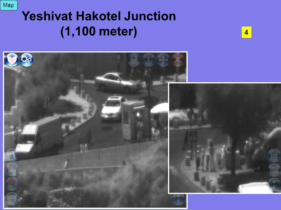 Yeshivat Hakotel Junction (1,100 meter) 4