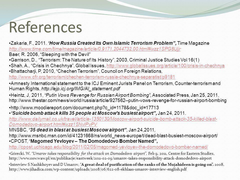 References Zakaria, F., 2011.