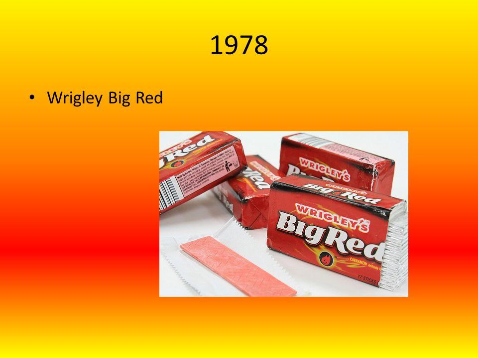 1978 Wrigley Big Red