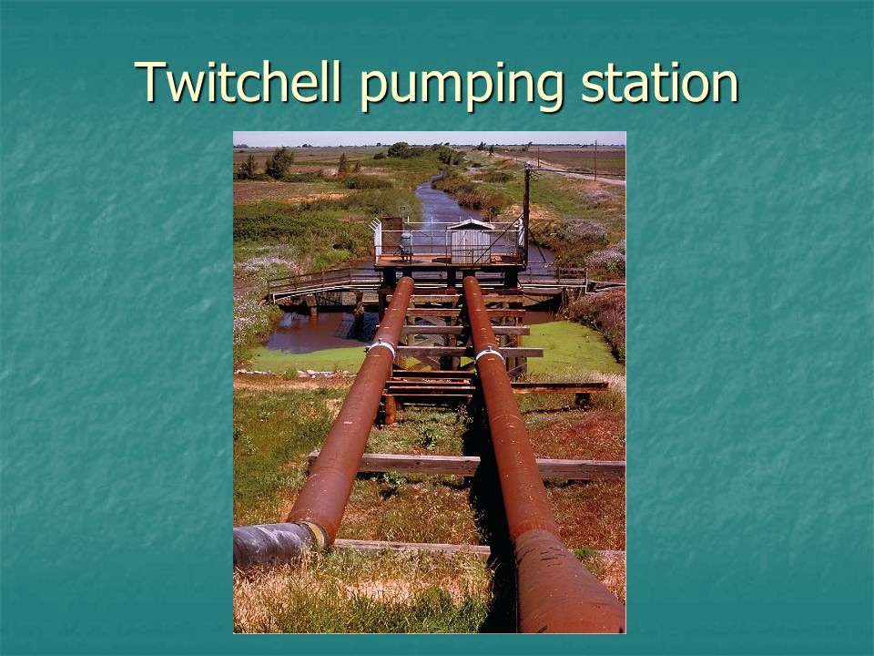 Twitchell pumping station
