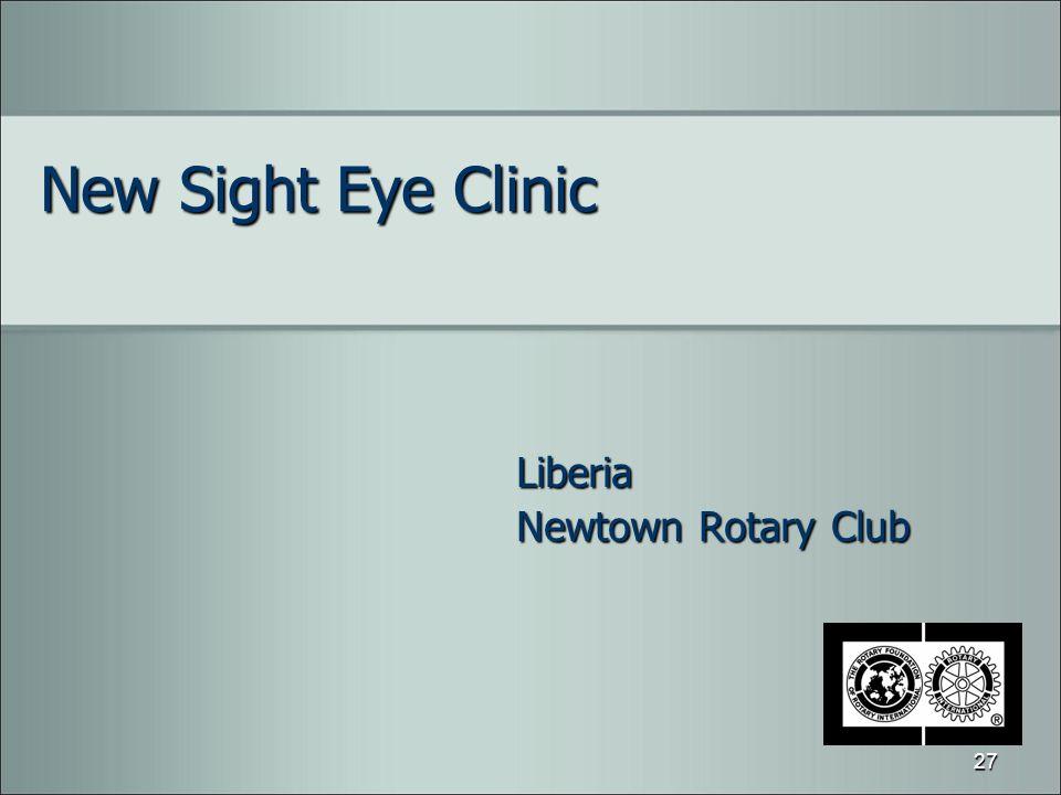 New Sight Eye Clinic Liberia Newtown Rotary Club 27