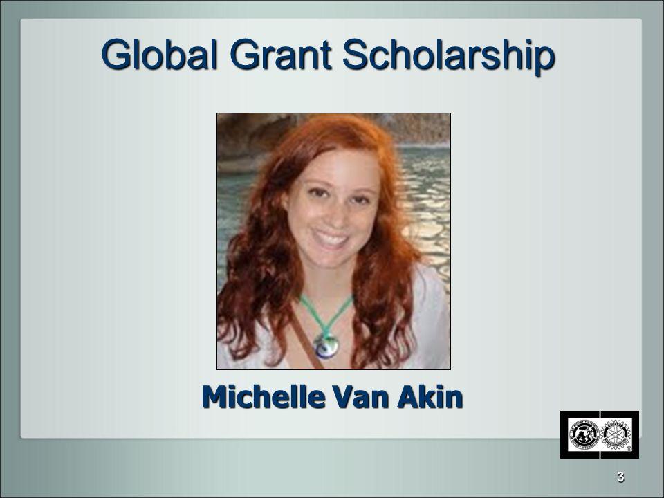 Global Grant Scholarship Michelle Van Akin 3