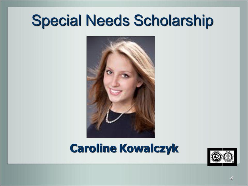 Special Needs Scholarship Caroline Kowalczyk 4
