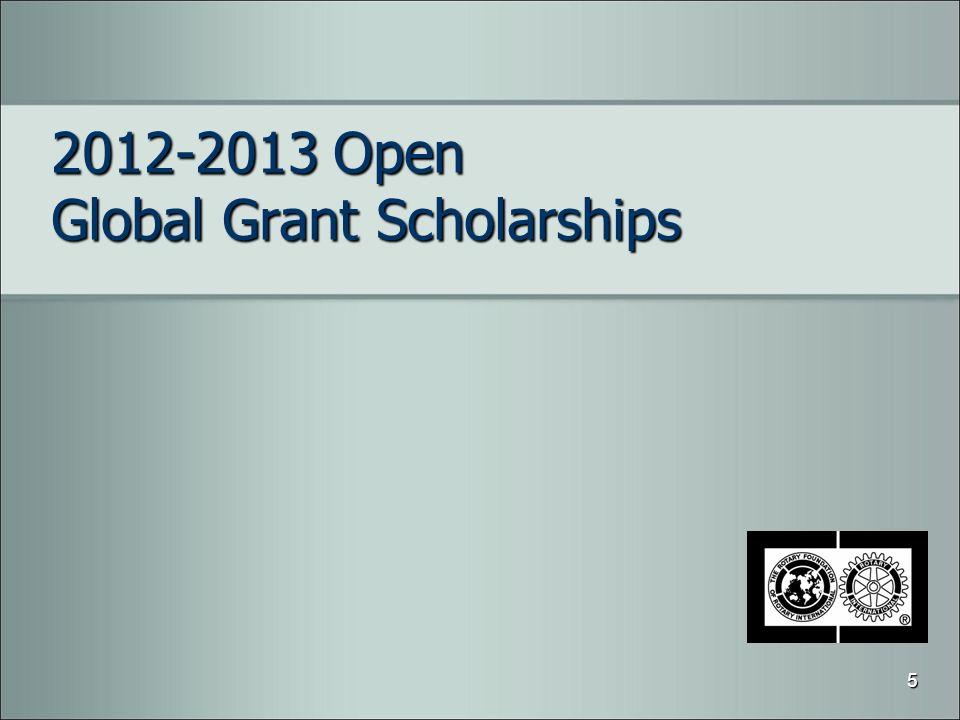 2012-2013 Open Global Grant Scholarships 5