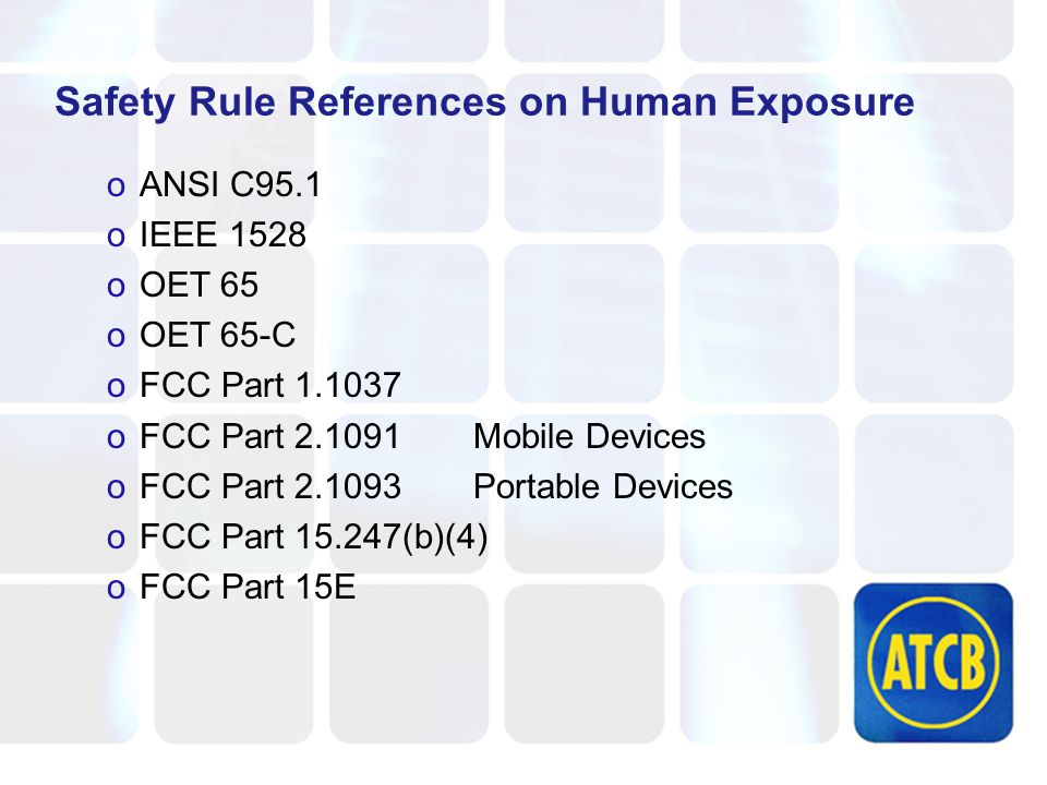 Additional Documents FCC has released specific guidance for SAR testing of WiFi products.