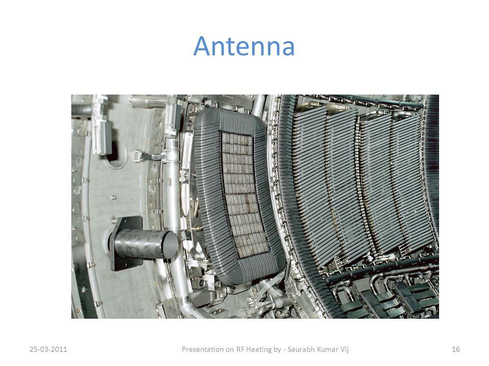 Antenna 25-03-201116Presentation on RF Heating by - Saurabh Kumar Vij