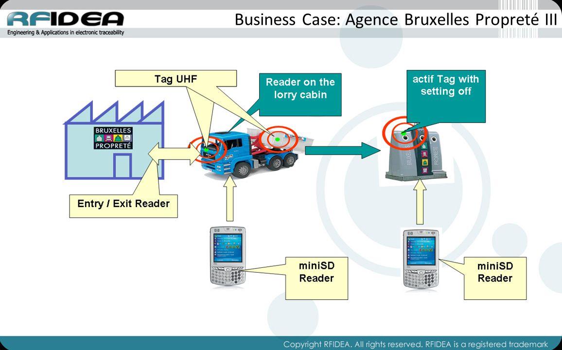 Business Case: Agence Bruxelles Propreté III