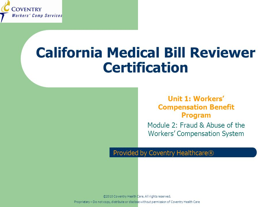 CA Regulations Training – Fraud & Abuse March 2010 22 Patient Fraud in the Real World Illegal Work: A former food worker in Hawthorne, CA collected $128,000.00 in benefits for a shoulder injury while taking similar jobs at other school districts around the state during the time he was on leave.