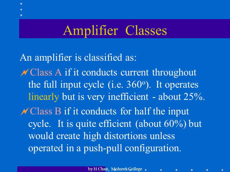 by H Chan, Mohawk College Stagger-Tuned IF Amplifiers