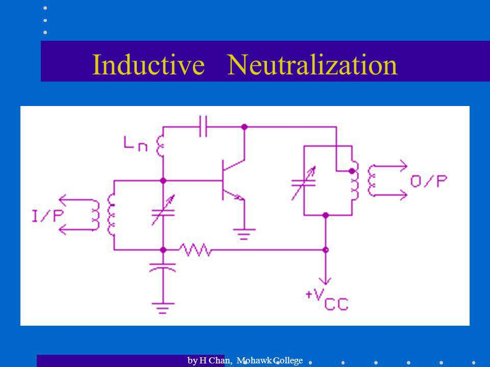 by H Chan, Mohawk College Transformer-Coupled Neutralization
