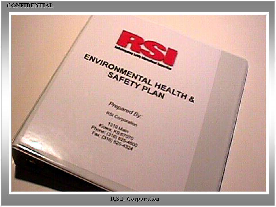 CONFIDENTIALCONFIDENTIAL R.S.I. Corporation