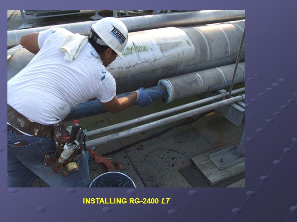 INSTALLING RG-2400 LT