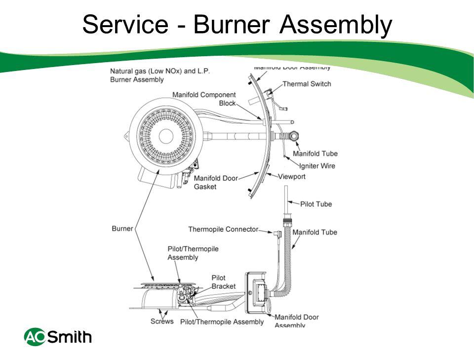 Service - Burner Assembly