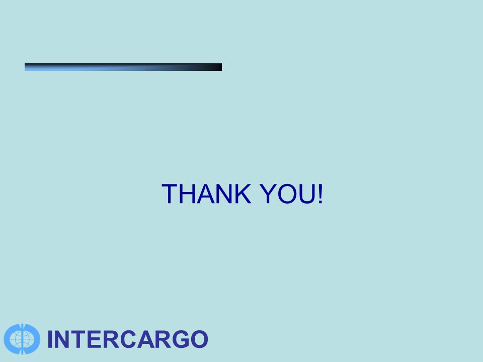 INTERCARGO THANK YOU!