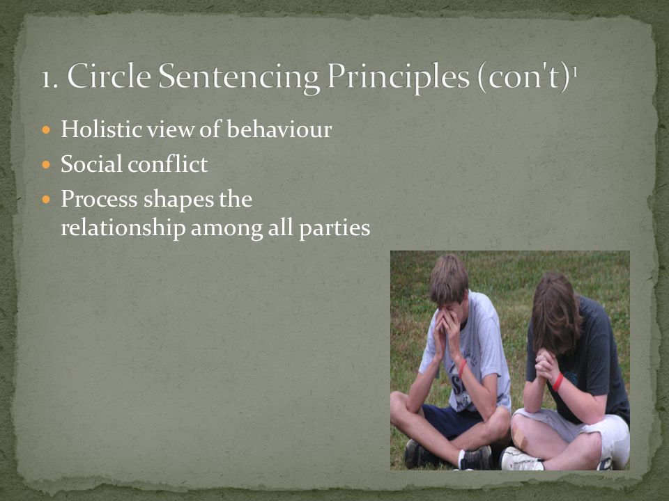 Holistic view of behaviour Social conflict Process shapes the relationship among all parties