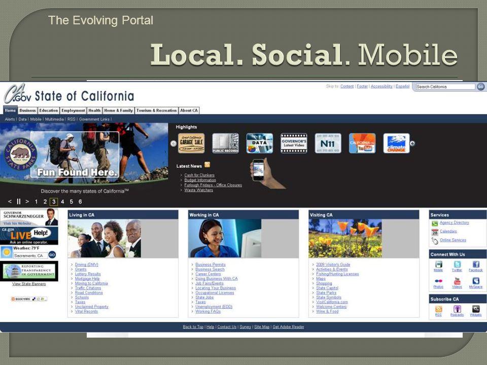 The Evolving Portal