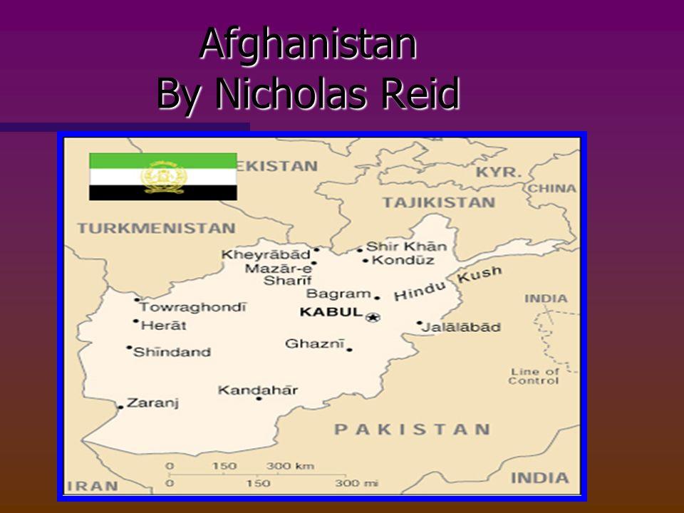Afghanistan By Nicholas Reid