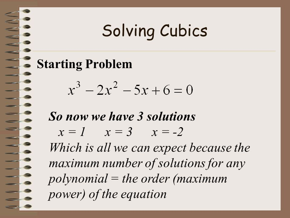 Solving Cubics ARRRRGHHHHHH!!!!!!!!!!!!!!!! There has got to be a quicker method!!