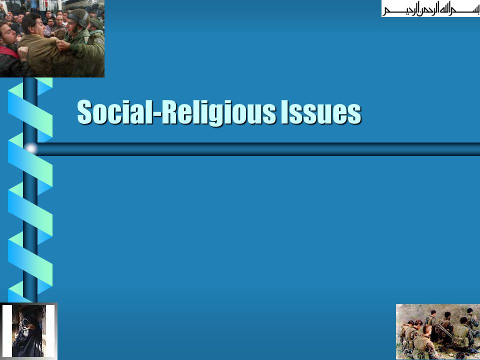 Social-Religious Issues