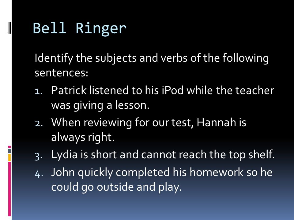 Day Two: Act III Bell Ringer Grammar Flashback: Conflict Review Reading Act III scenes iii-v Skill Focus: Foil Characters Foil Character Activity CFA (Timed) Learning Target: I can explain how the use of complex (foil) characters affects the development of the plot and theme of a text.