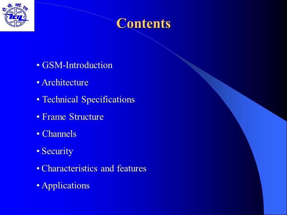 GSM Specification-II GSM Specification-II Carrier Separation : 200 Khz Duplex Distance : 45 Mhz No.
