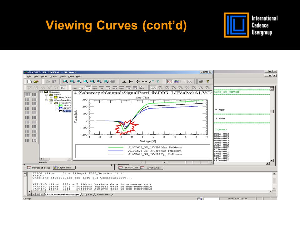Viewing Curves (contd)