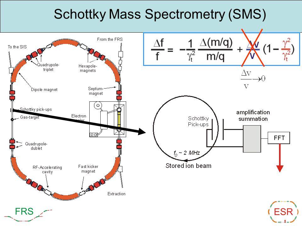 Schottky Mass Spectrometry (SMS)