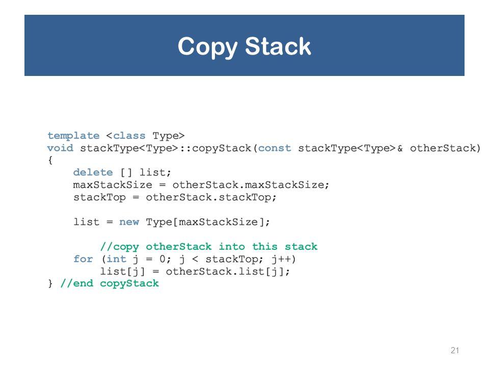 Copy Stack 21