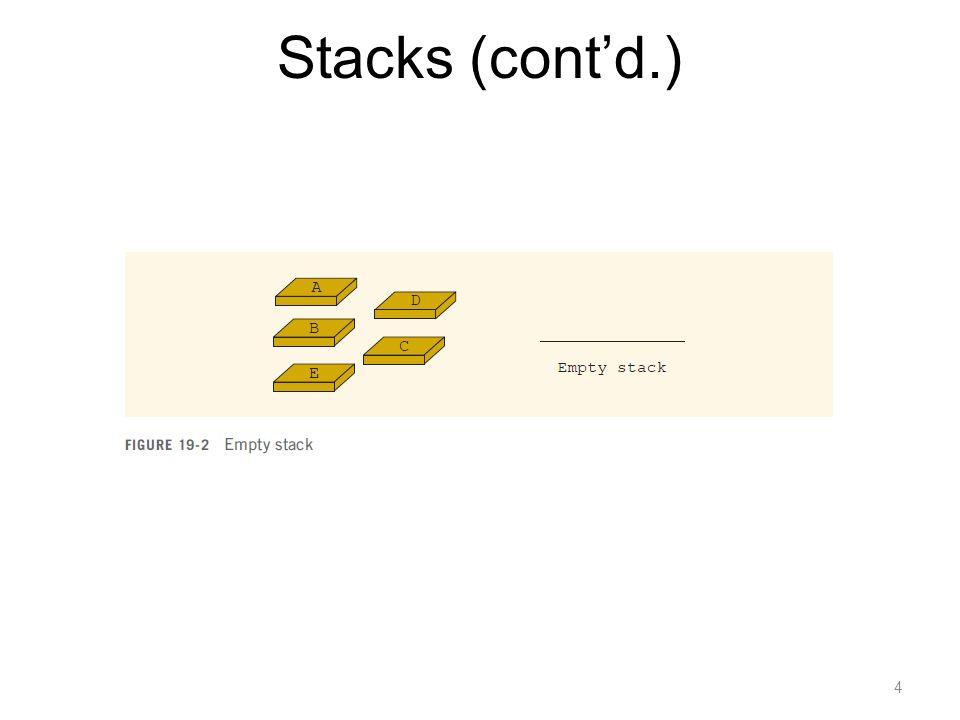 4 Stacks (contd.)