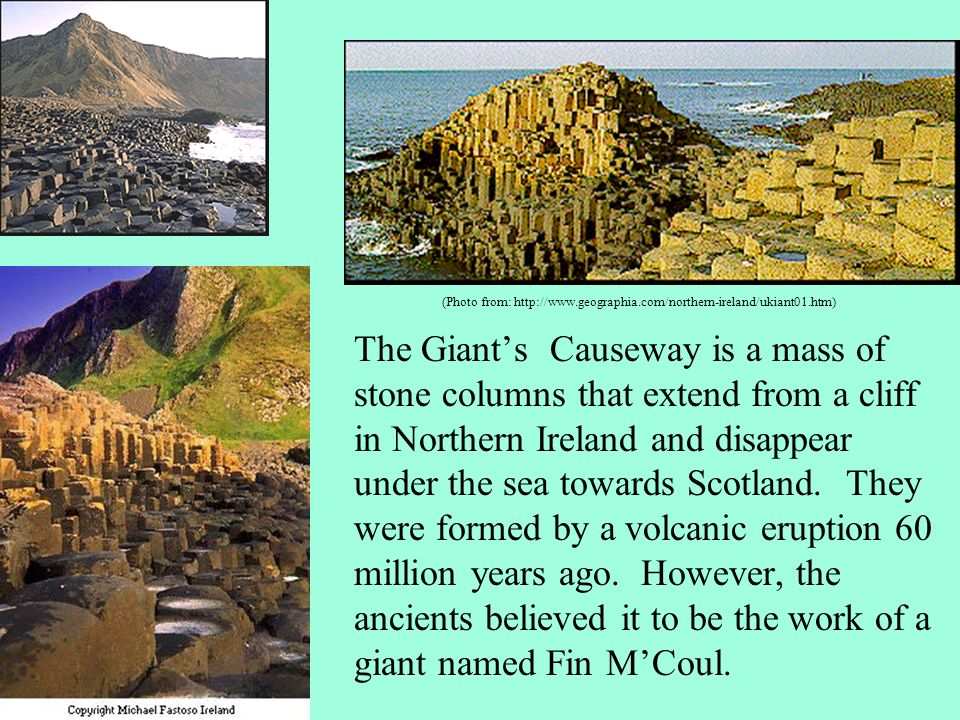 Castles and ruins are found all over Ireland.