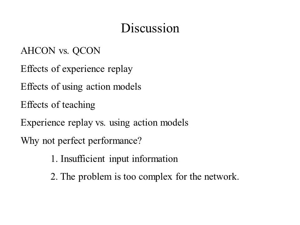 Discussion AHCON vs.