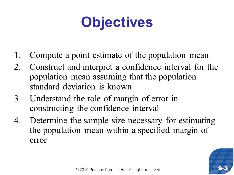 © 2010 Pearson Prentice Hall. All rights reserved 9-44 End Here