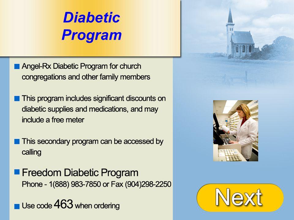 + Diabetic Program