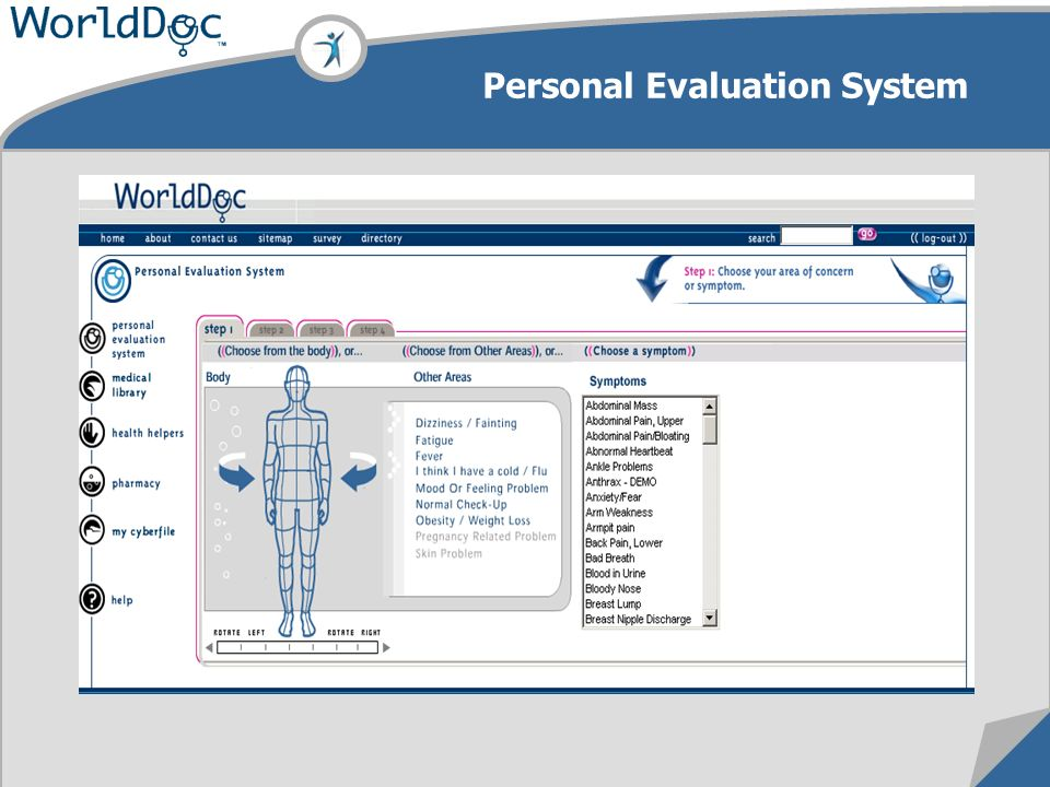 Personal Evaluation System