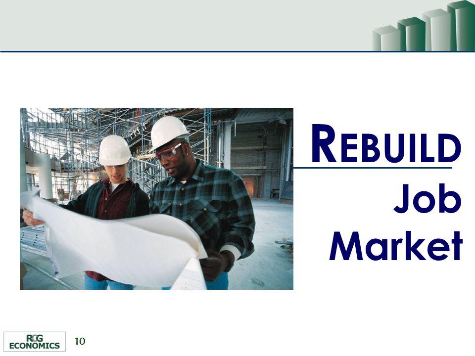 10 R EBUILD Job Market
