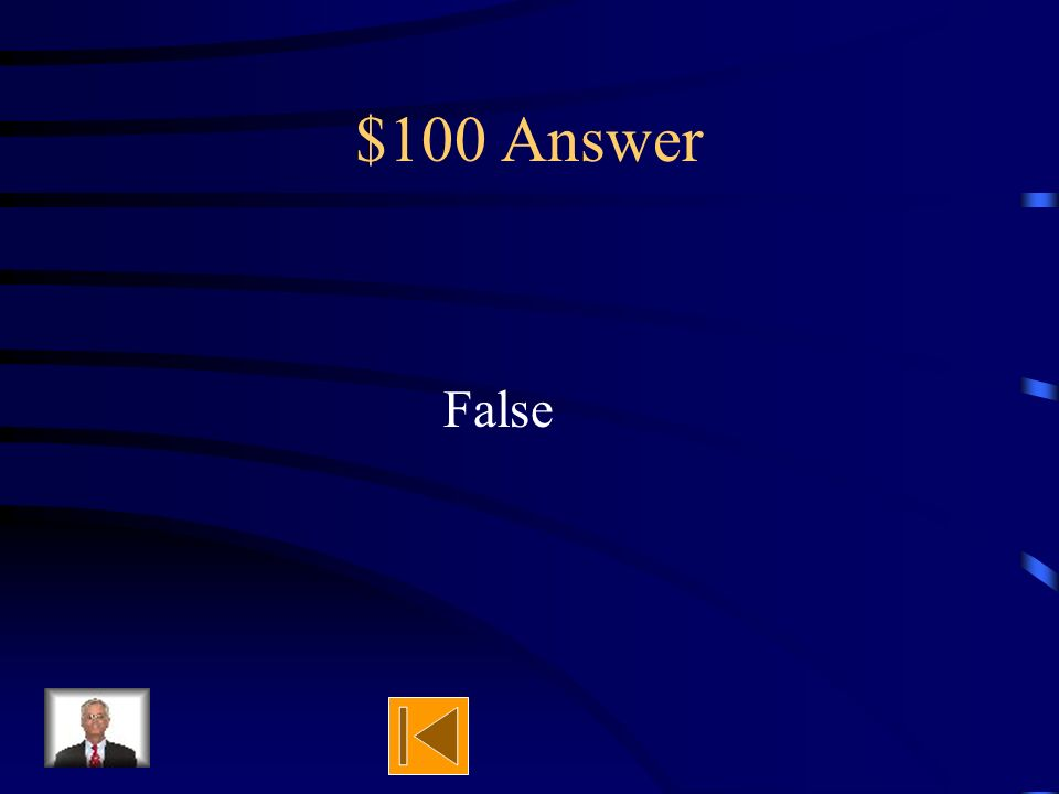 $100 Question True or false Four ways seeds are dispersed are: wind, animals, e mail, and water.