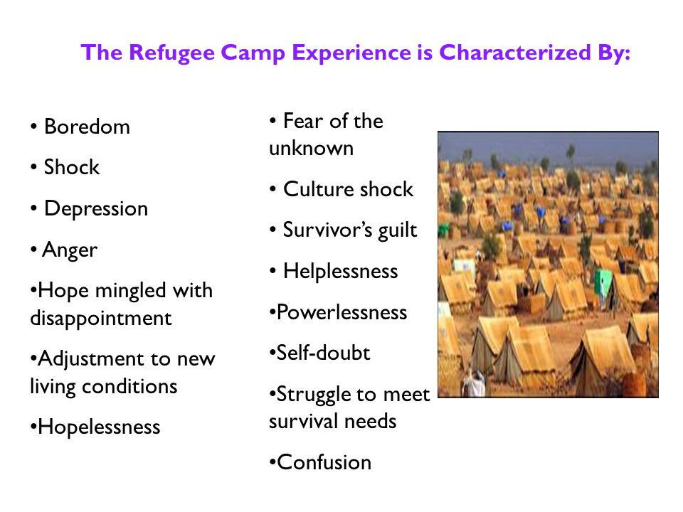 The average stay in a refugee camp is years.